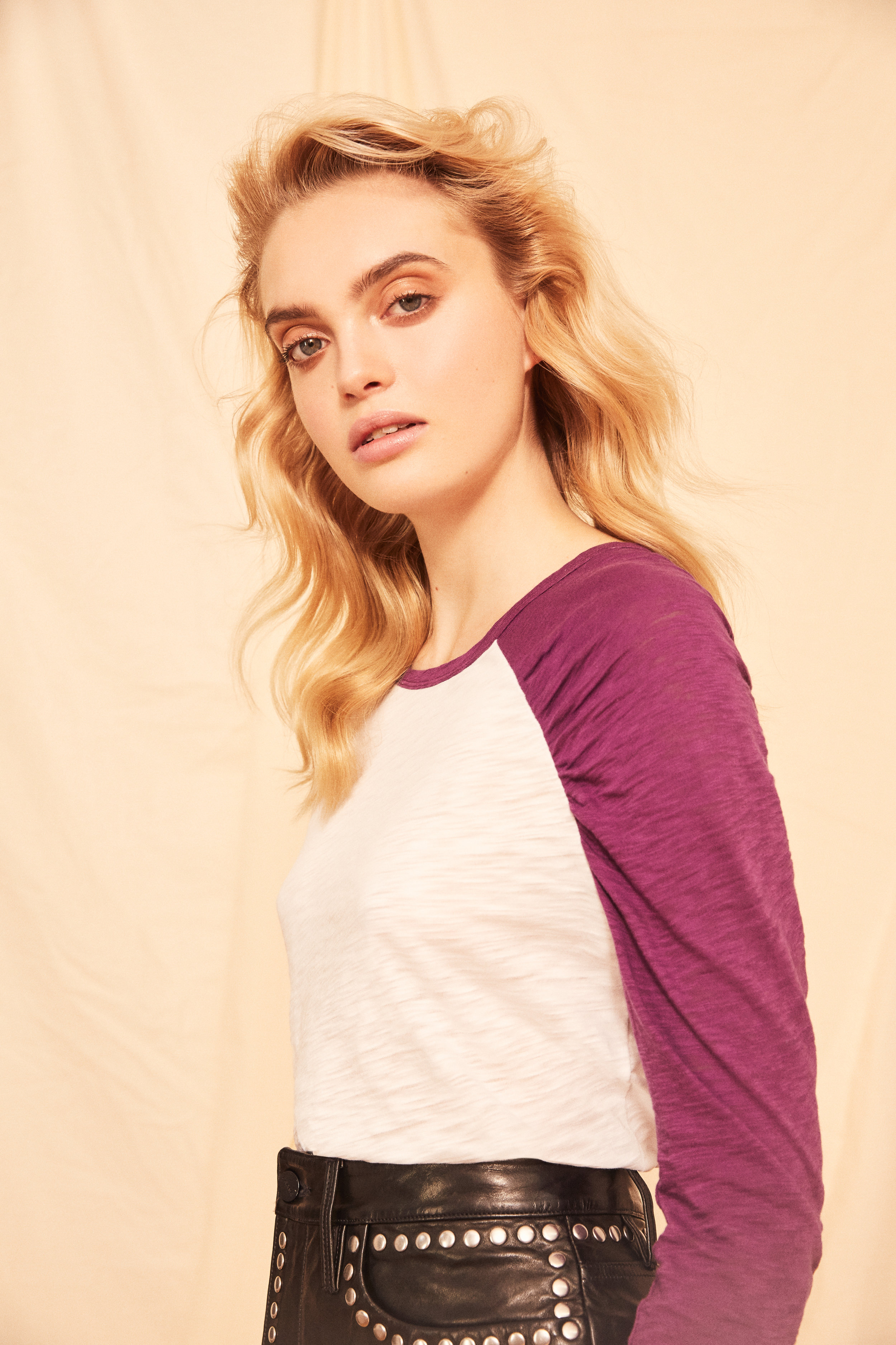 Ruched Baseball Tee<strong>COMING SOON</strong>