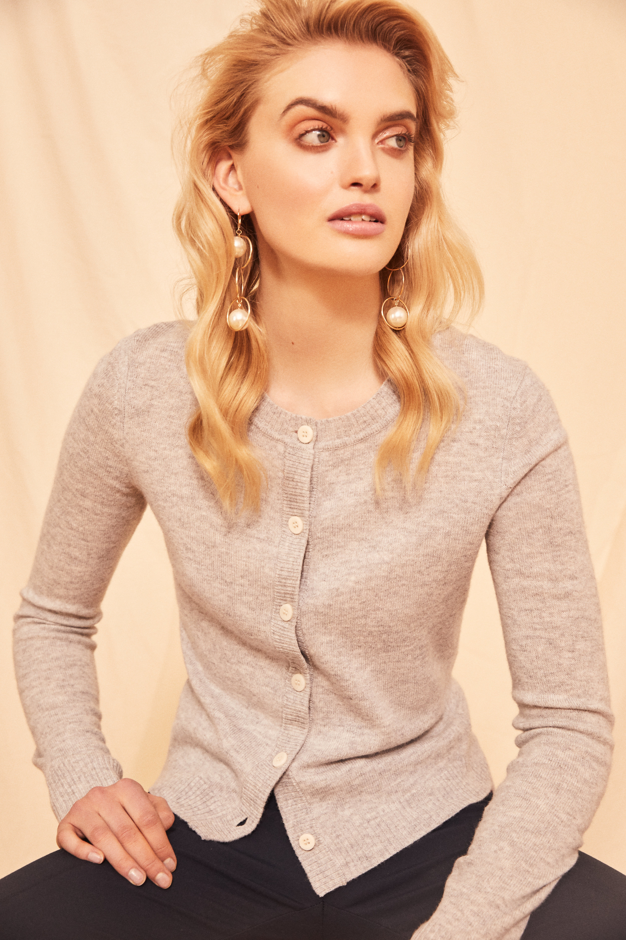 Merino Cashmere Cardigan<strong>COMING SOON</strong>