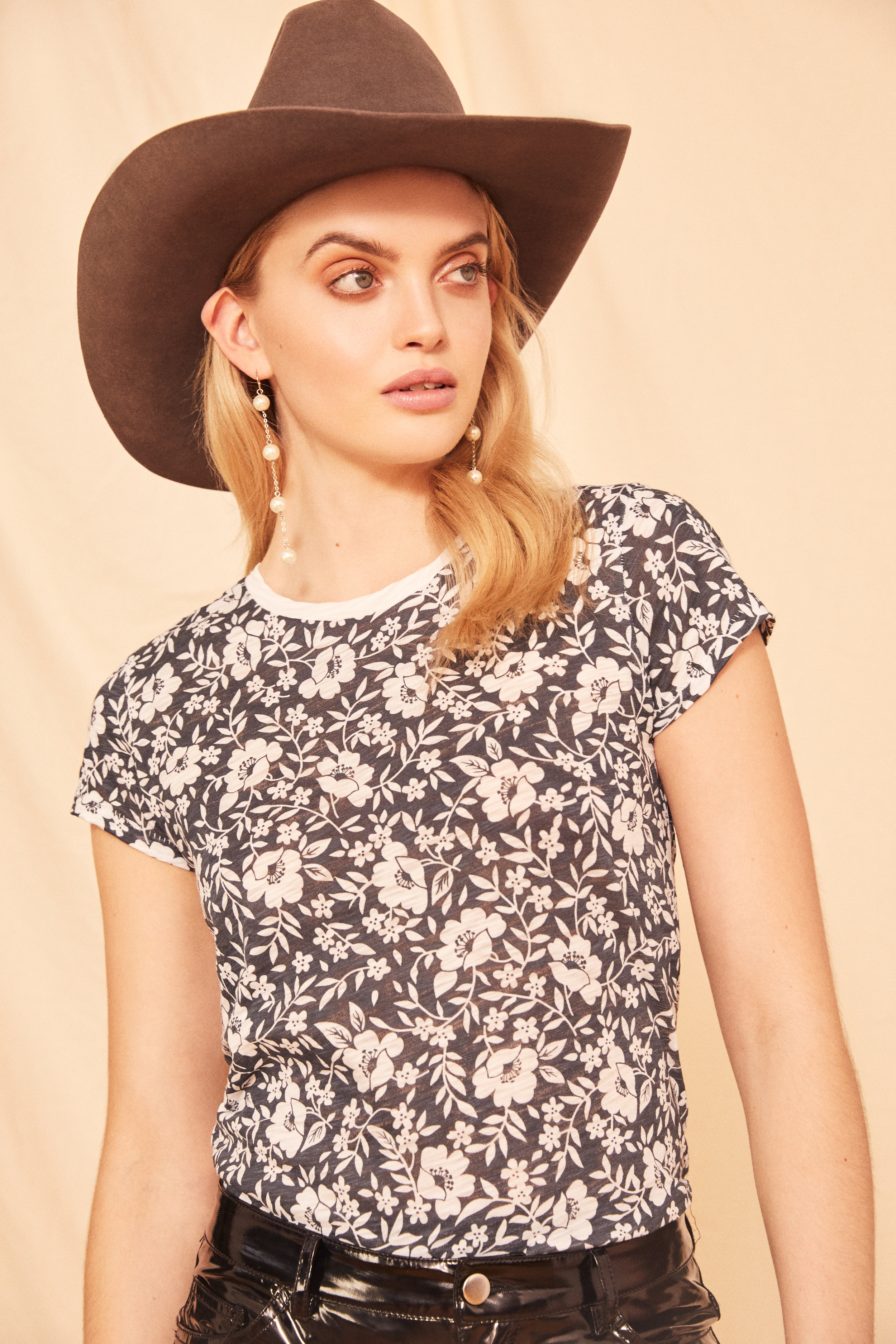 Floral Ringer Tee<strong>SHOP NOW</strong>