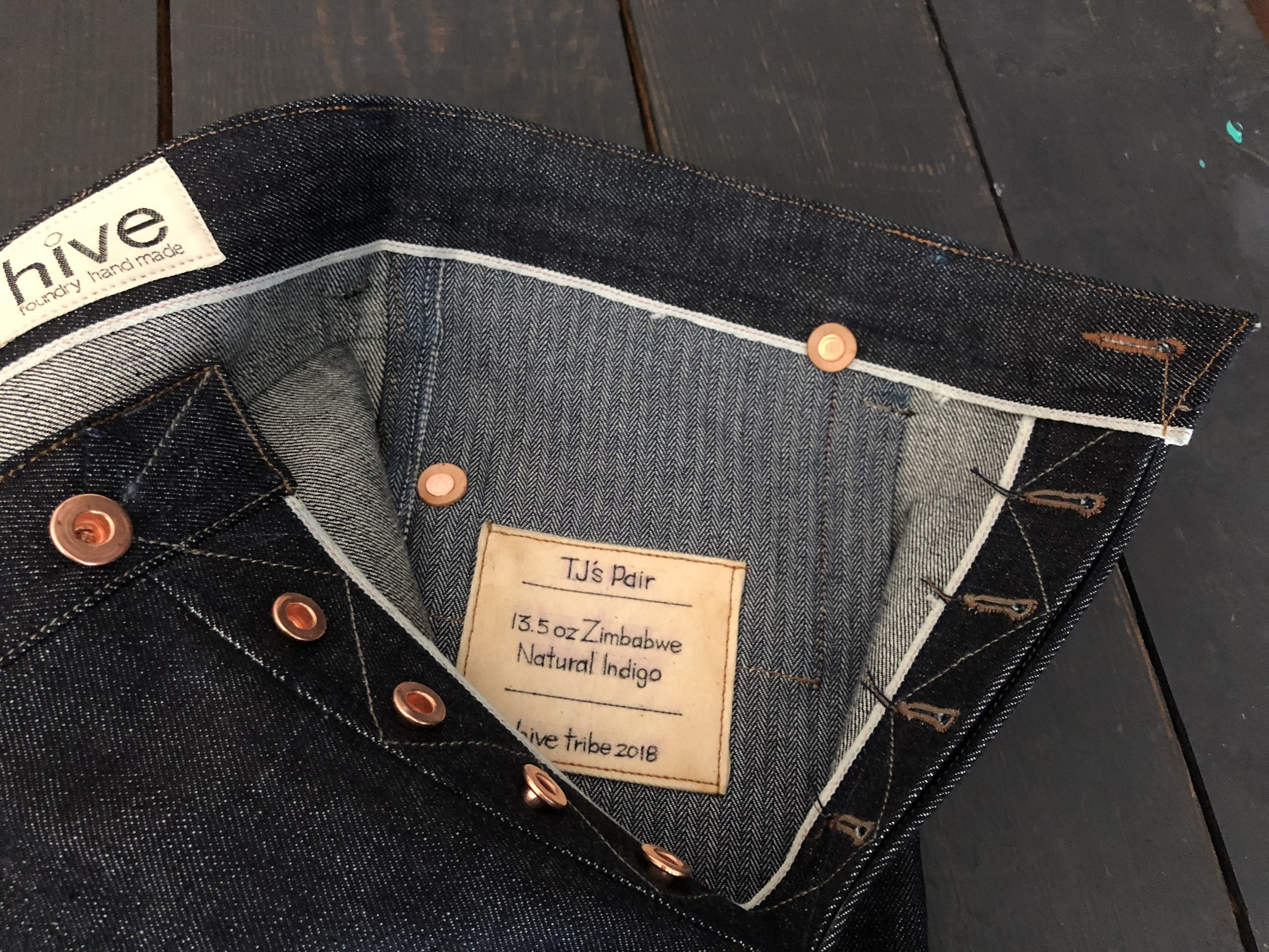 One piece selvedge fly - Standard
