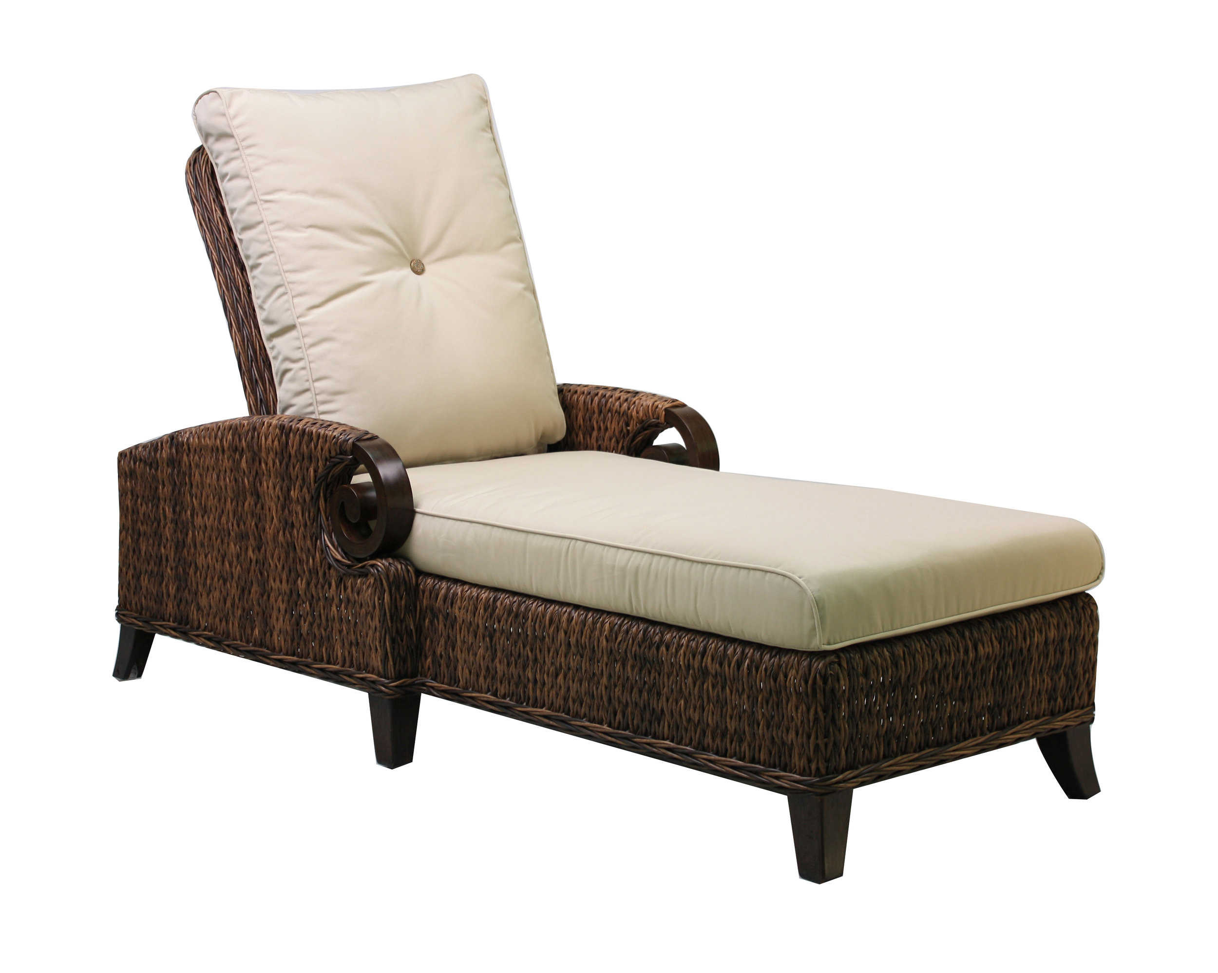 "973852 Antigua Adjustable Chaise   85.1"" x 32.4"" x 20.8"""