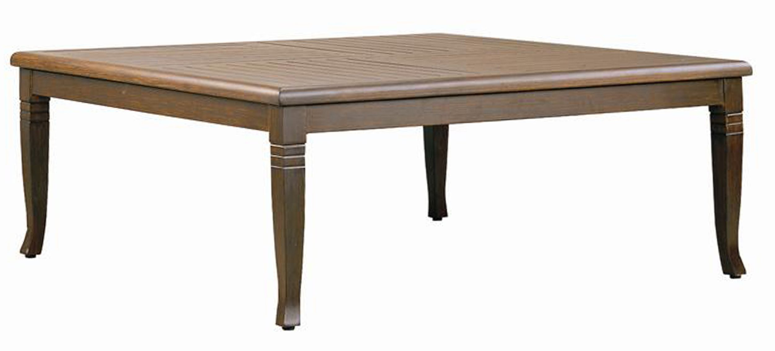 "971250B Catalina 48"" Square Coffee Table Base  (Base only) * See Book  (Top : W-48S Farnham Aluminum Faux Wood Top)  47"" x 47"" x 18.7"""