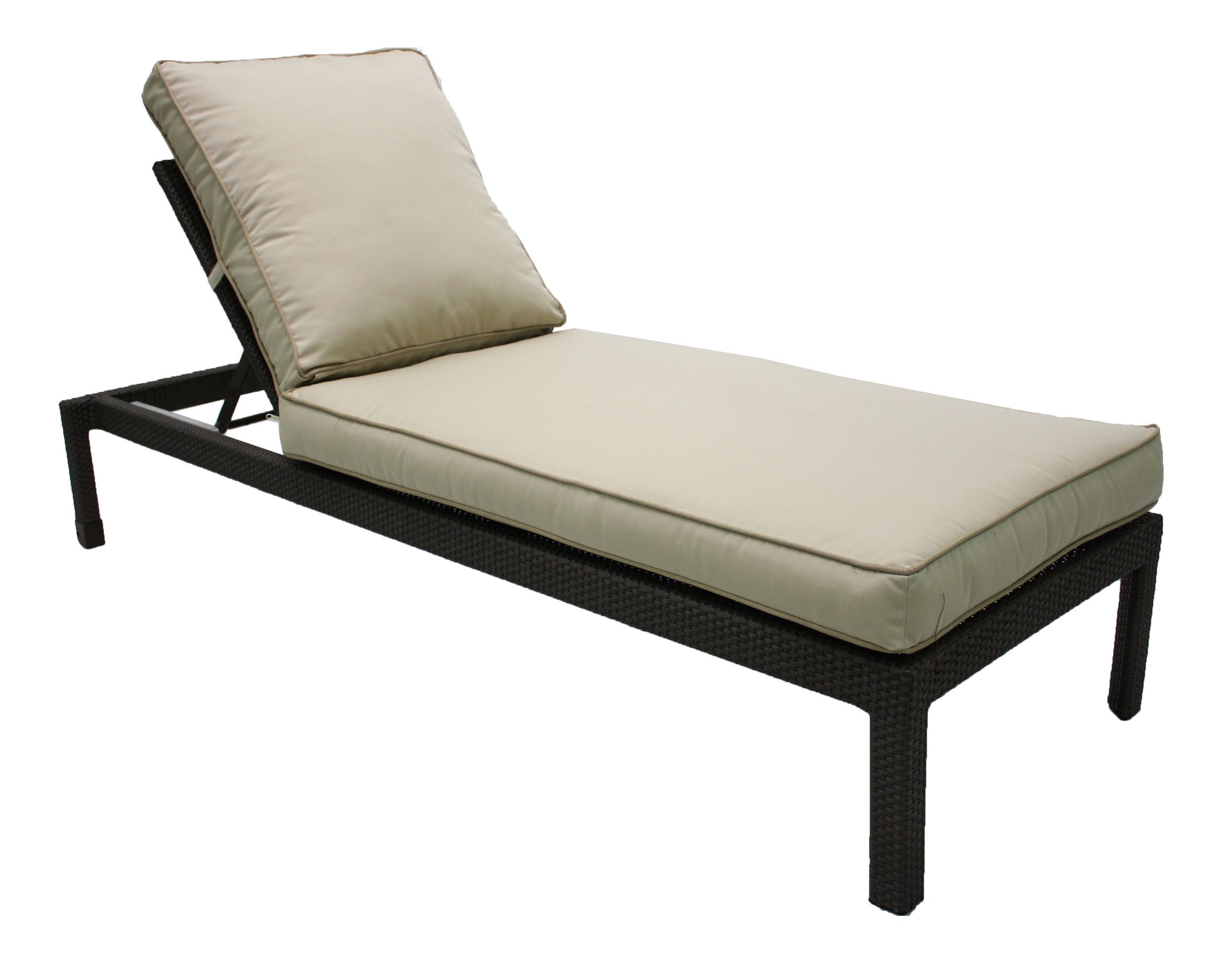 "891052 Del Mar Stackable Chaise   80"" x 30.7"" x 12.2X"