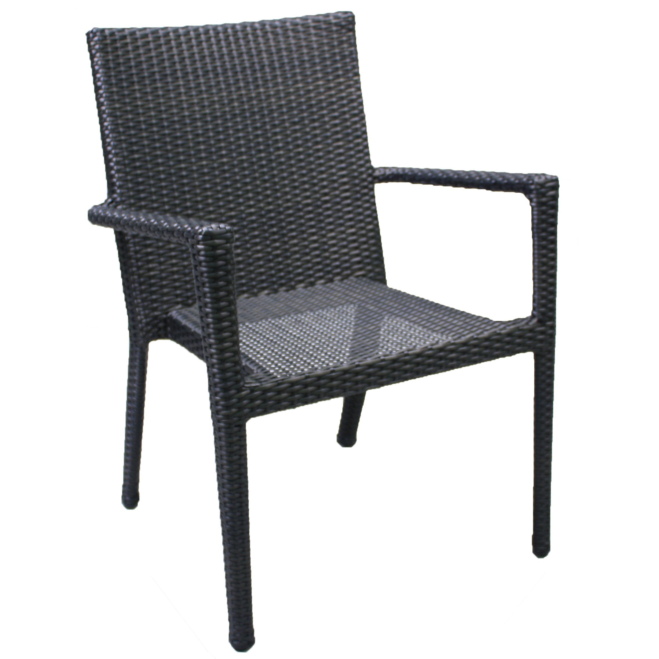 "891021 Del Mar Stackable Dining Chair   24.4"" x 25.6"" x 34.3"""