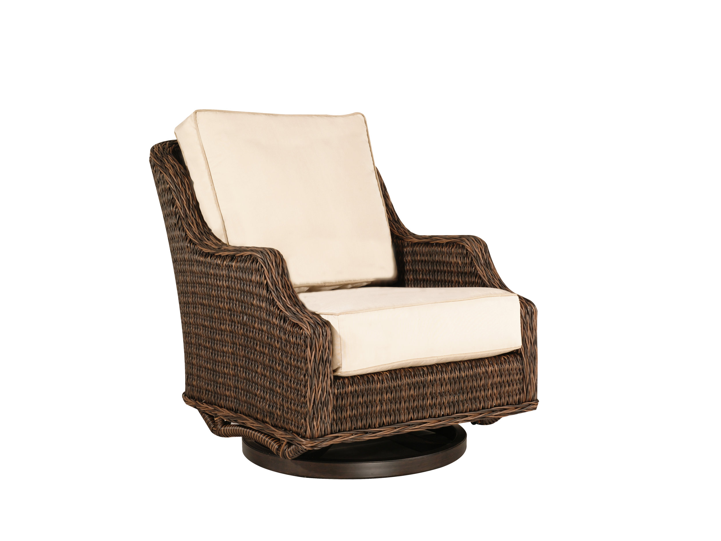 "973029 Monticello DS Swivel Glider   31.8"" x 40.2"" x 36.2"""