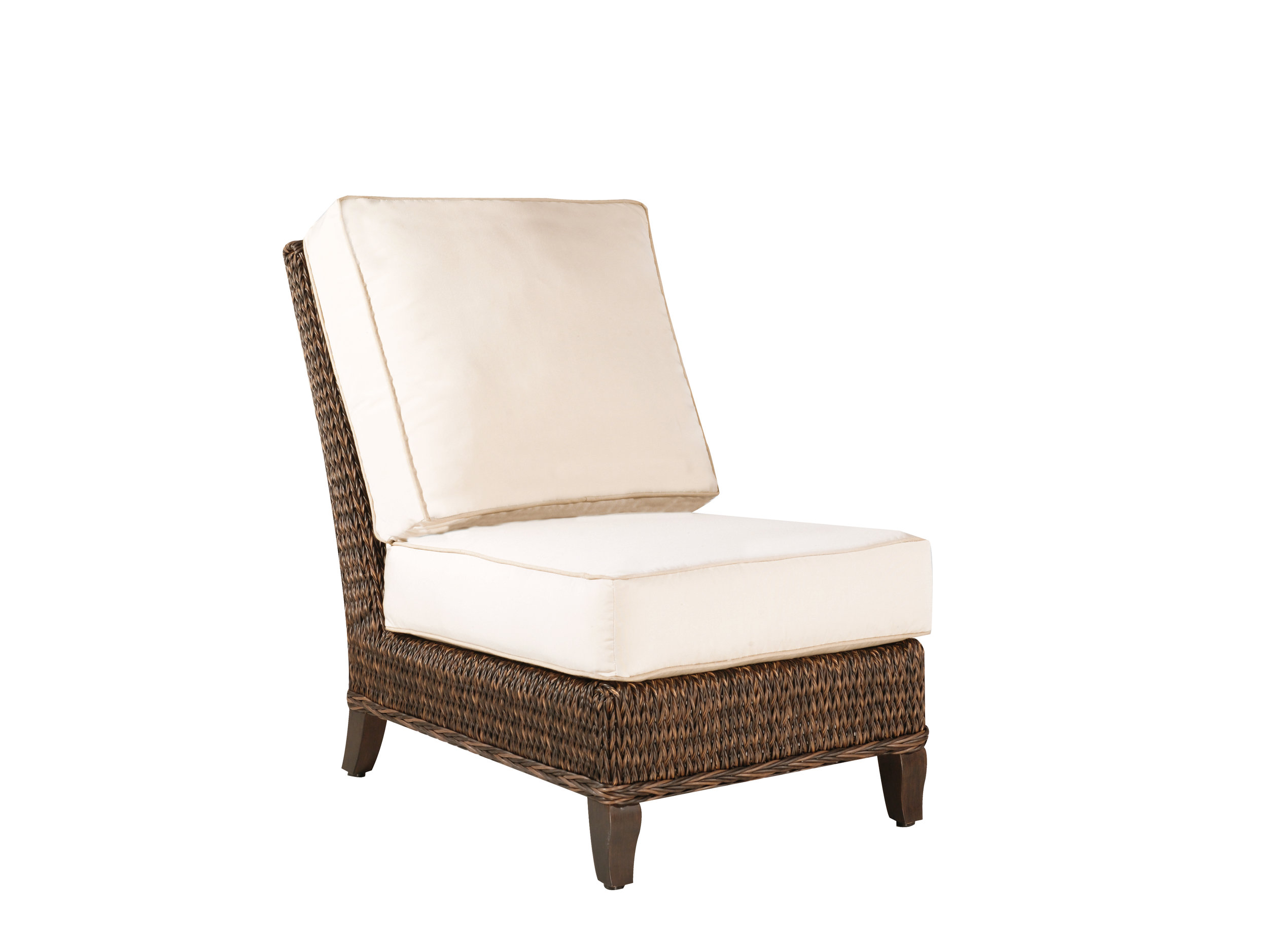 "973031A Monticello Armless Chair   26"" x 40.2"" x 36.2"""