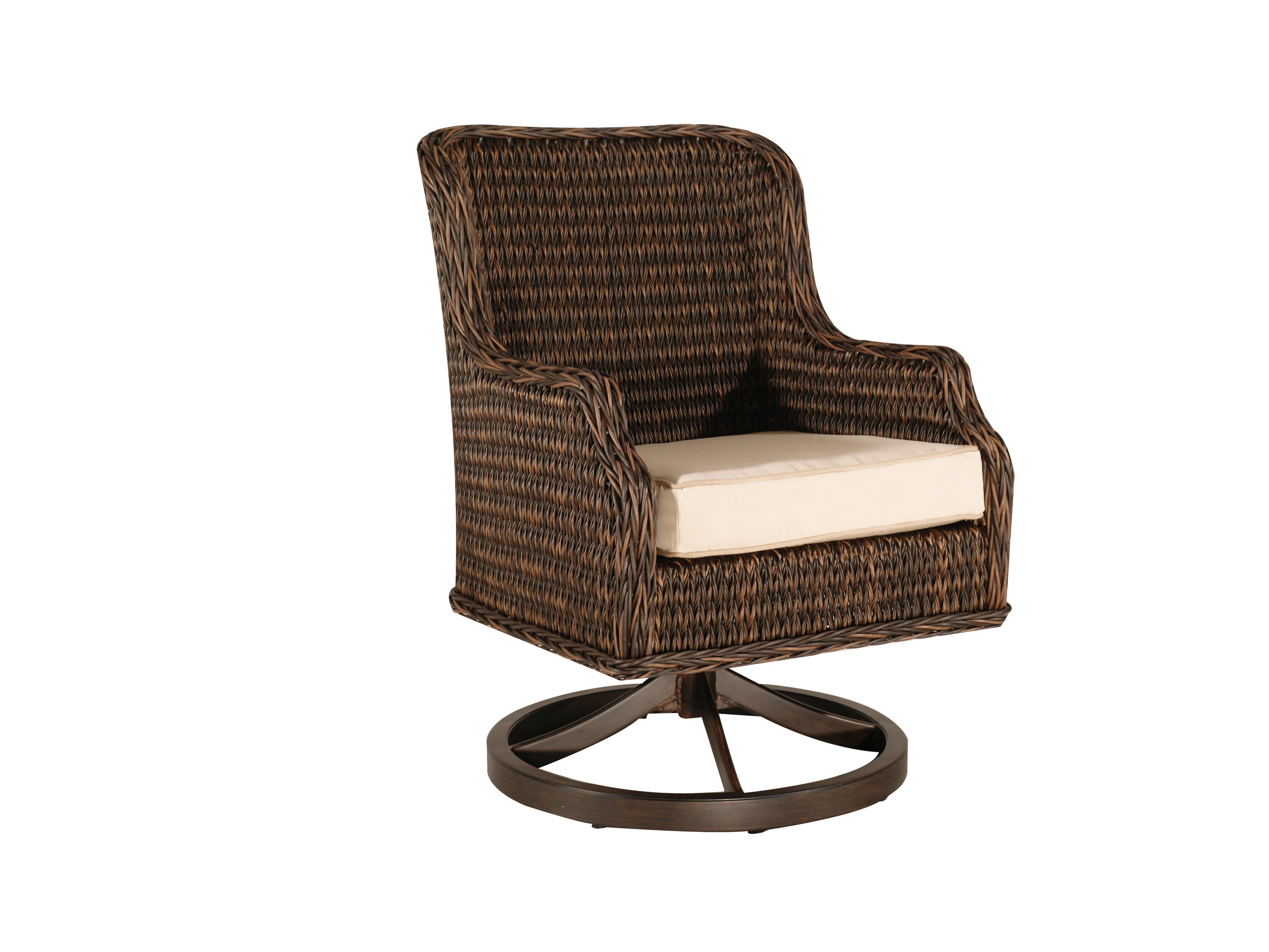 "973023 Monticello Dining Swivel Rocker   24.2"" 27"" x 36"""