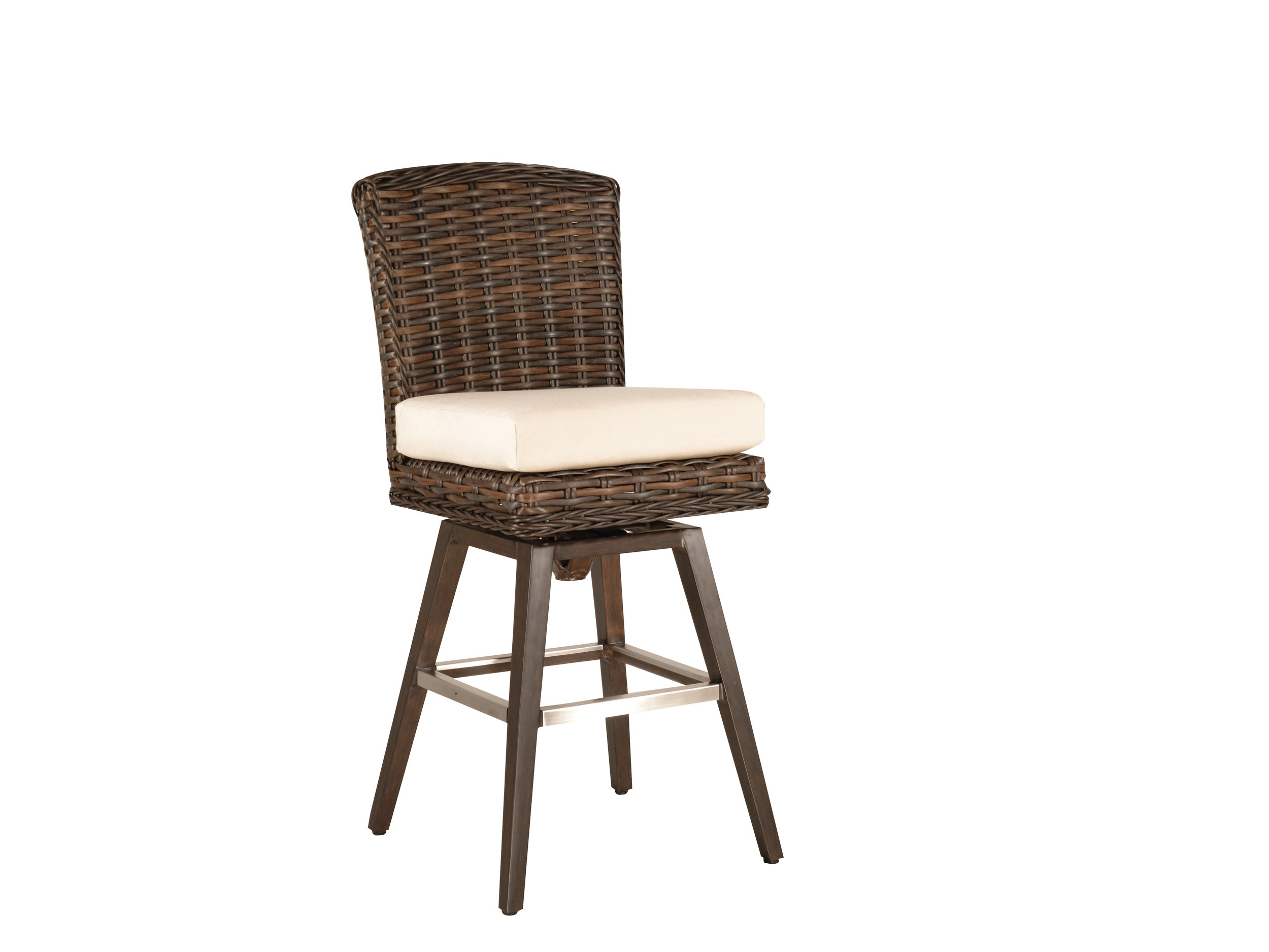 "973008 Monticello Swivel Bar Chair   24"" x 18.5"" x 46.5"""