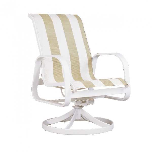 "970423L Aruba LB Dining Swivel Rocker   25"" x 30"" x 38"""