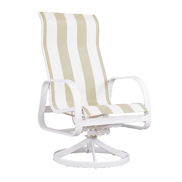 "970423H Aruba HB Dining Swivel Rocker   25"" x 30"" x 44"""