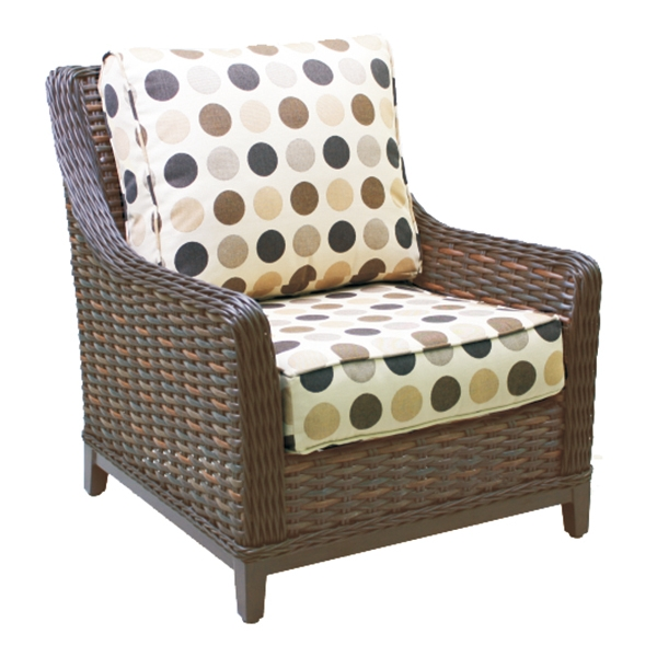 "971231H Catalina High Back Lounge Chair   37"" x 35"" x 37"""