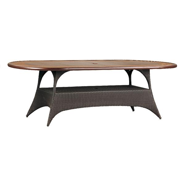 "970276B Cayman 76""/84"" Dining Table Base   (Top : CS-4276 Grandeur Aluminum Faux Stone Top)  58"" x 28.5"" x 27.5"""