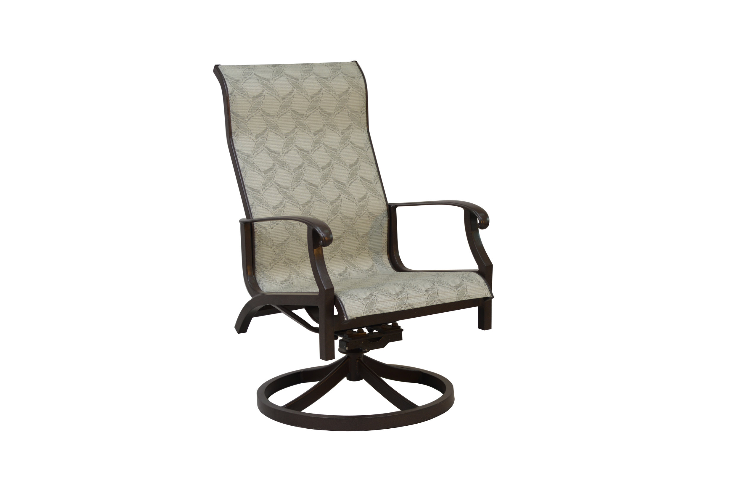 602323 Laguna Dining Swivel Rocker   24.2 x 29.2 x 42