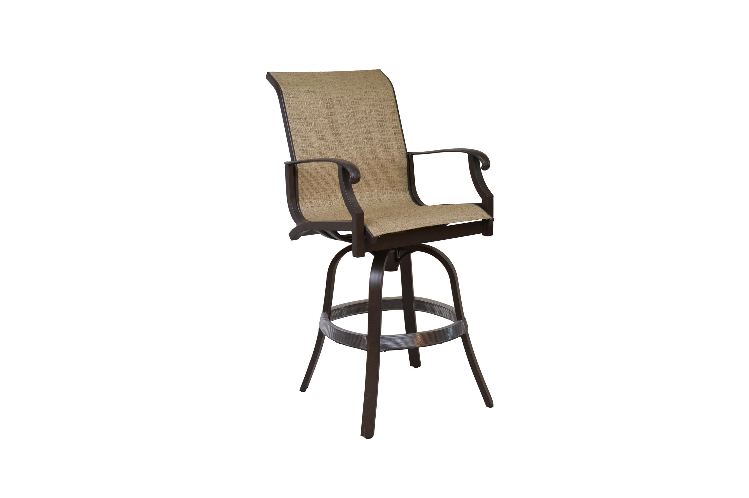 602308 Laguna Swivel Bar Chair   24 x 29.4 x 48.8