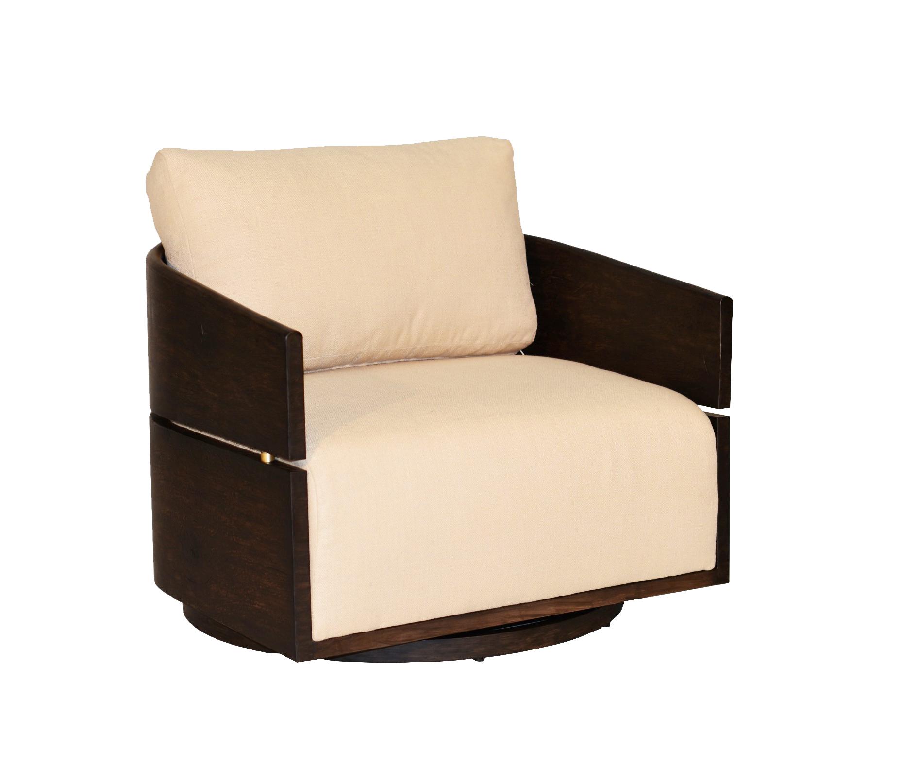 "974229 TribecaSwivel Lounge Chair   34"" x 32"" x 26"""