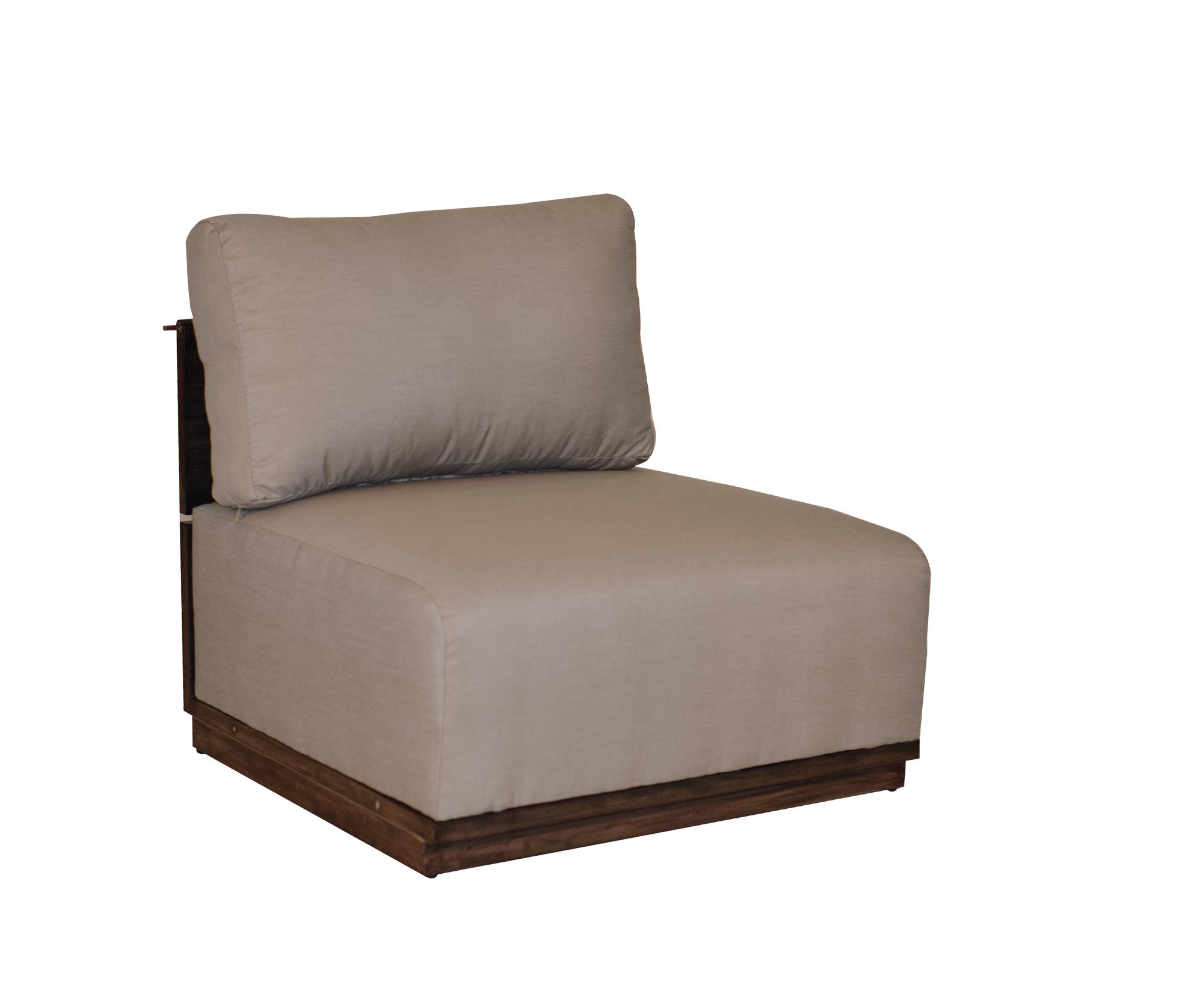 """974231A Tribeca Armless Chair   33"""" x 32"""" x 26"""""""
