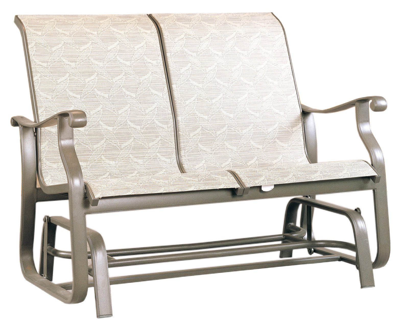 "970565 Mandalay Double Glider   48.8"" x 30"" x 36.8"""