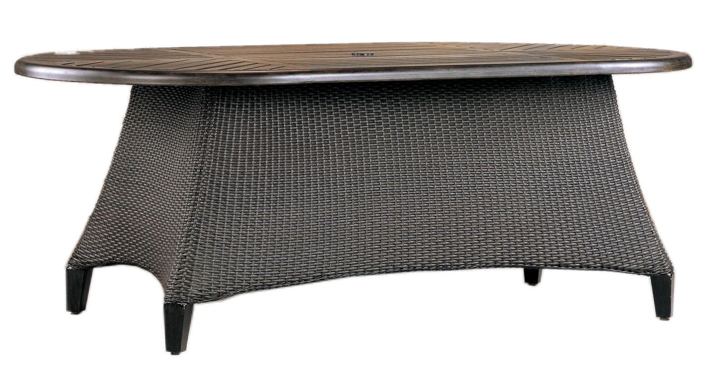 "970176B Monterey 76/84""End Table Base   (top : WF-4276 Farnham Aluminum Faux Stone Top)  28.8"" x 28.8"" x 27.5"""