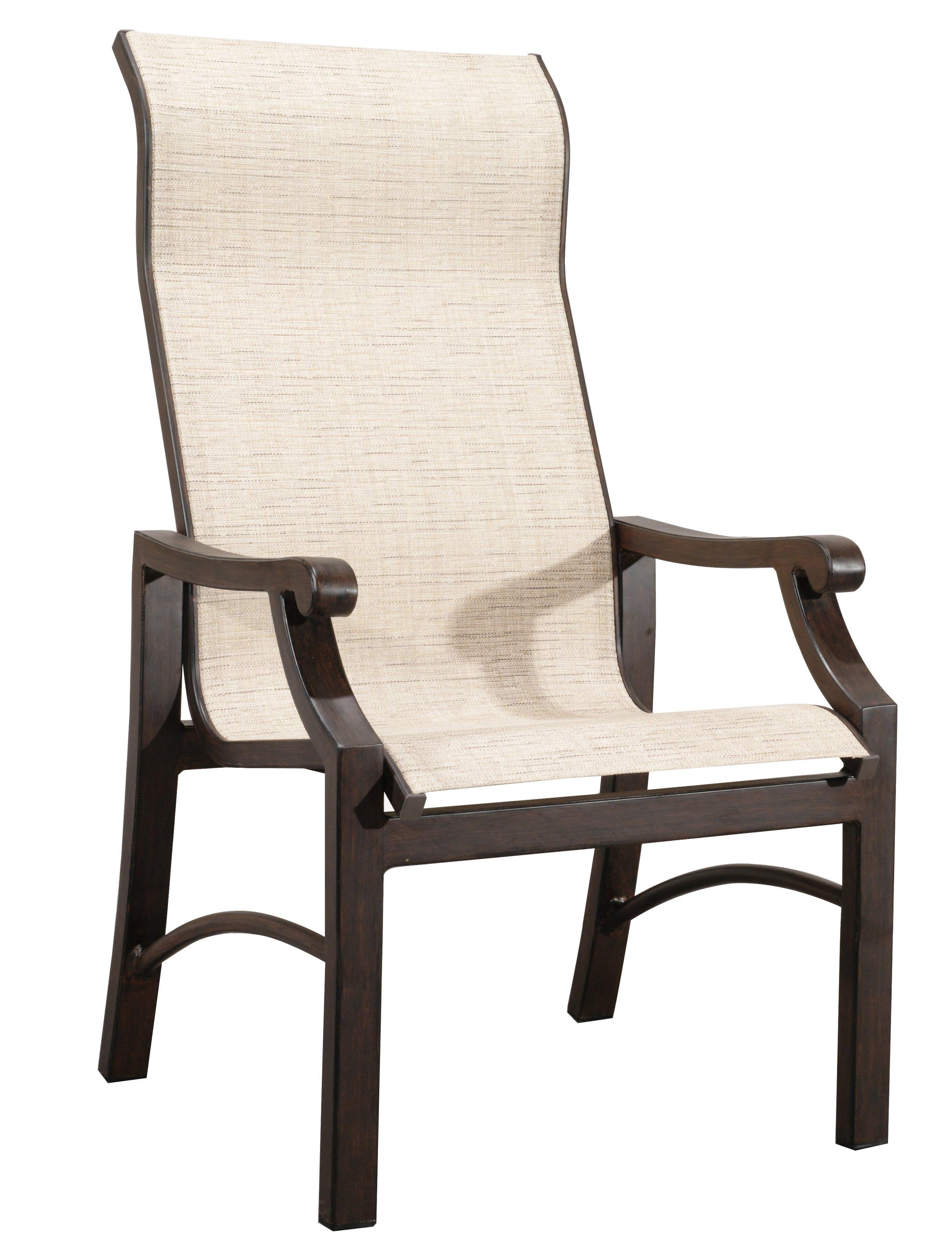 "970820 Venice Sling Dining Chair   27.4"" x 20"" x 42"""