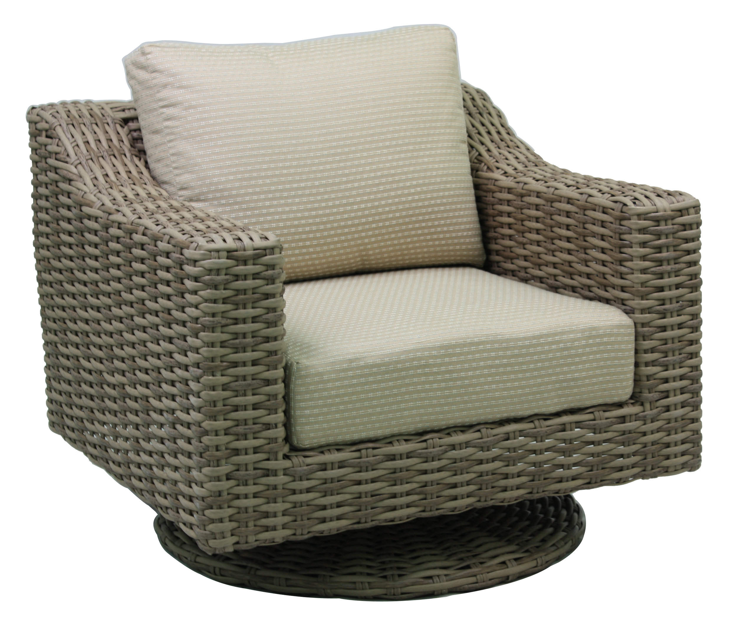 "957129 Sorrento DS Swivel Glider   37.6"" x 36.8"" x 30.5"""