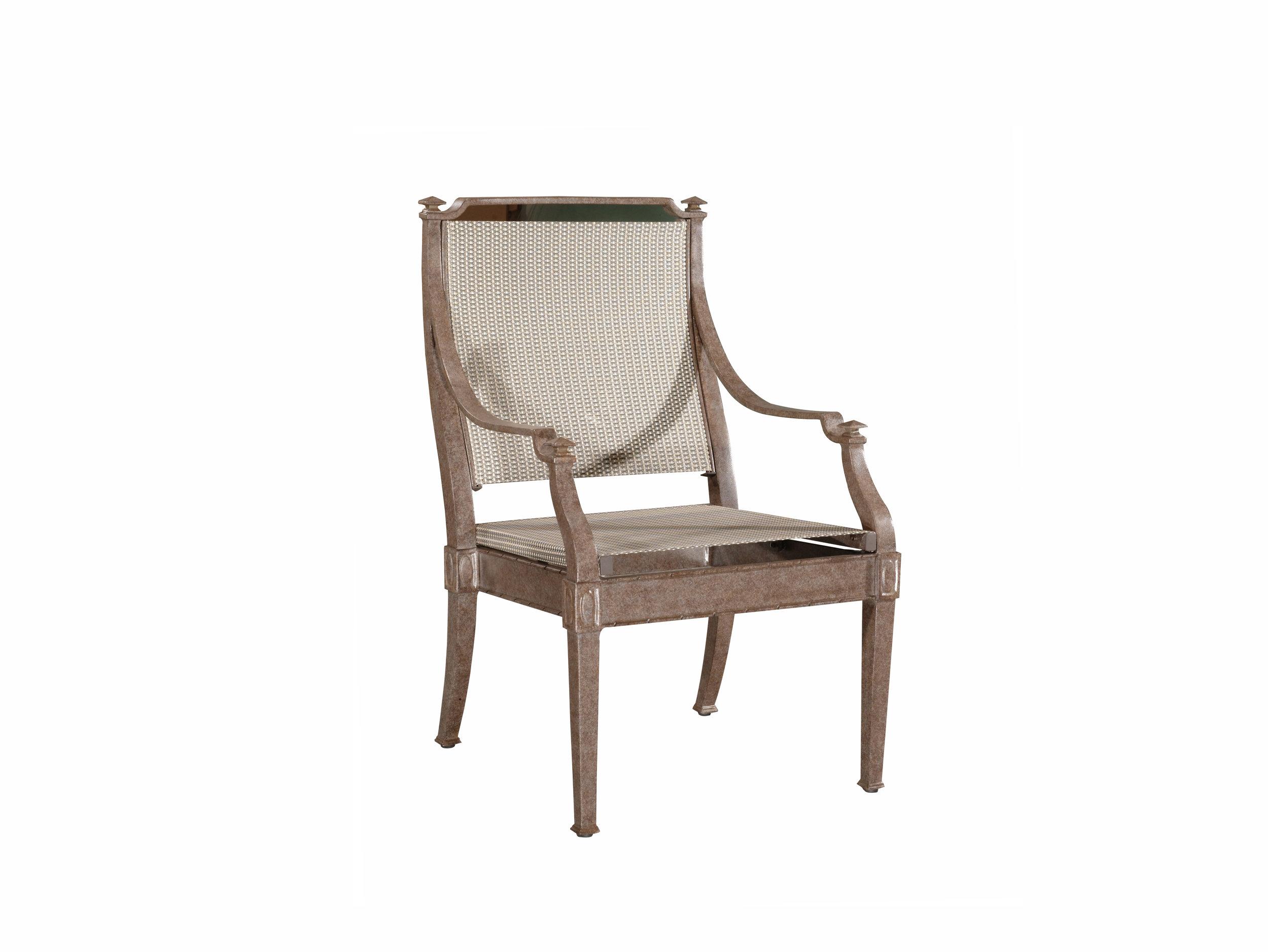"972019 Newport Sling Dining Arm Chair   23.4"" x 27.3"" x 38.3"""