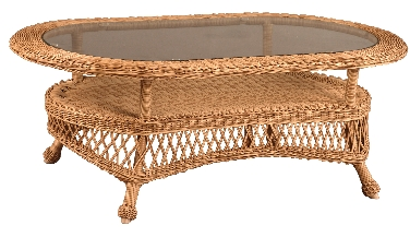 "950536 Rivierra Large Oval Coffee Table   47"" x 28"" x 16.5"""