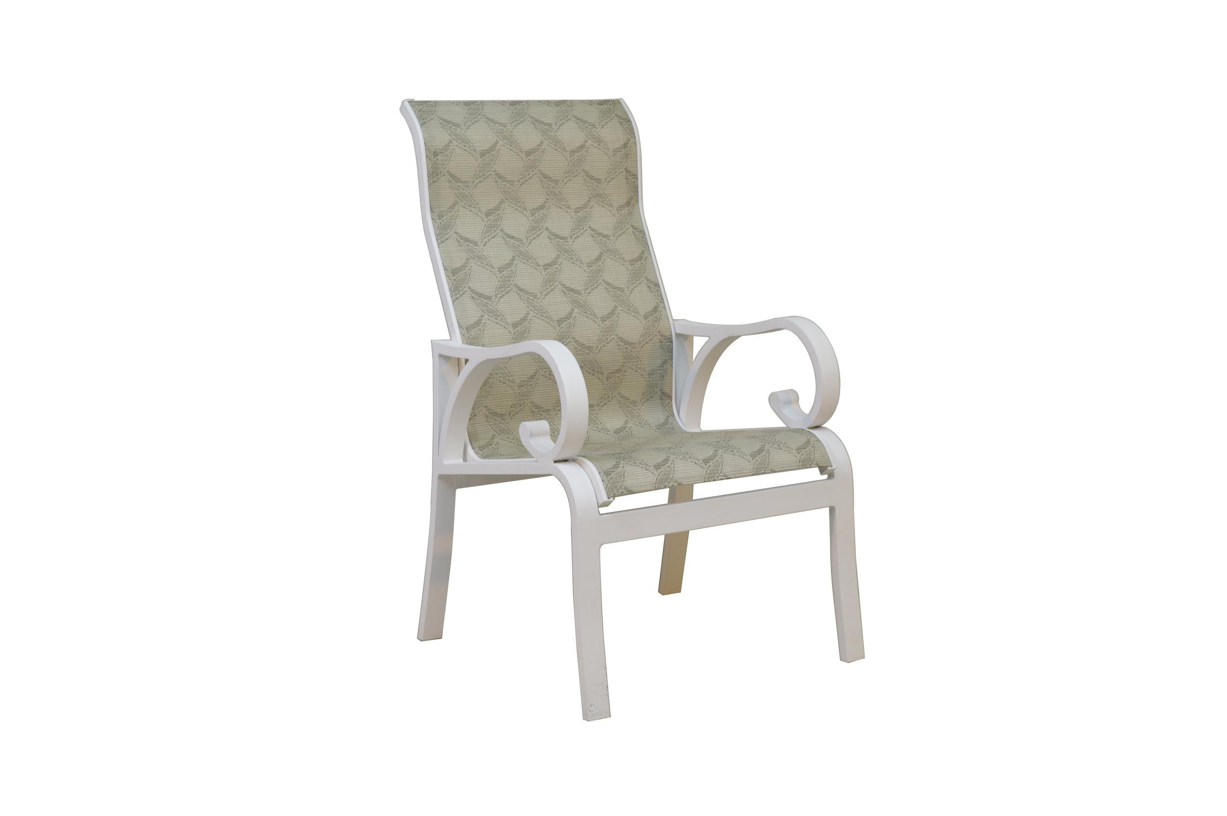 601521 Key Largo Dining Chair   24.6 x 29.3 x 42.3