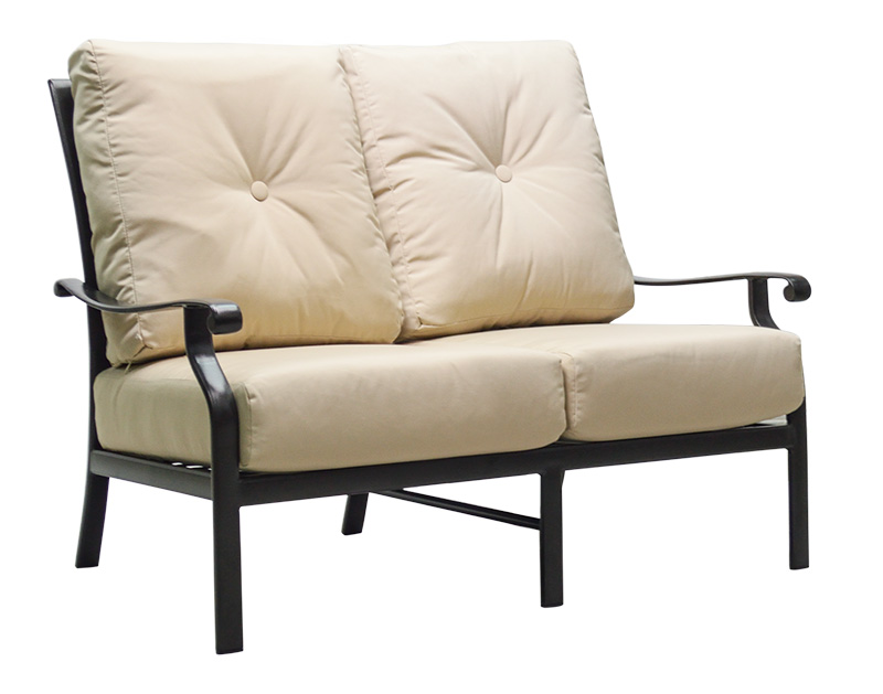 "970561H Mandalay HB Loveseat   54"" x 38.9"" x 38.5""  (Image Incorrect BOX WELT - HB Crescents (row below))"