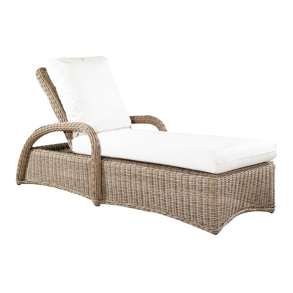"971952 West Hampton Single Adjustable Chaise   30.3"" x 84"" x 22"""