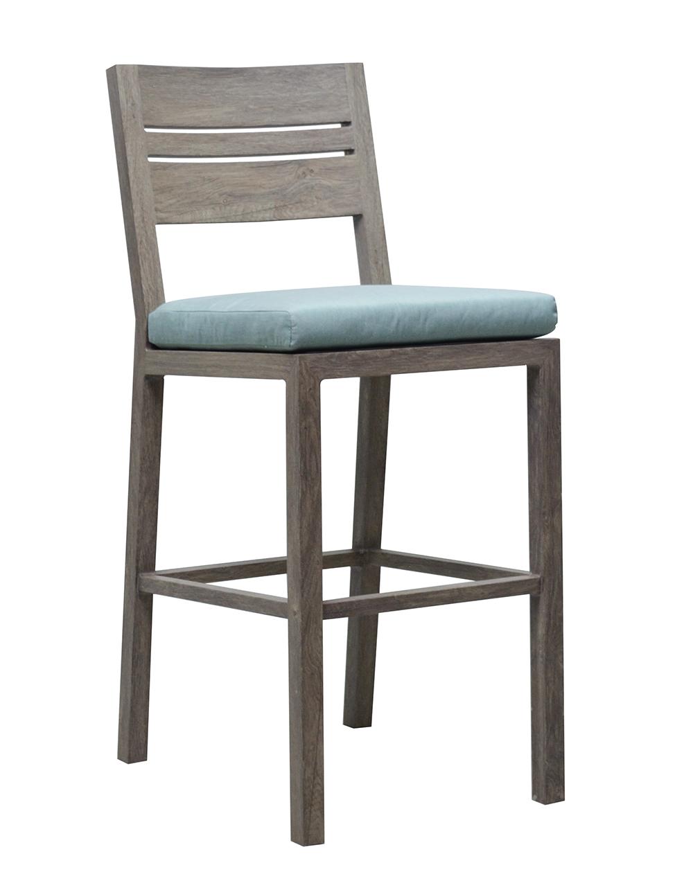 "975408 Aspen Armless Bar Chair      18.6"" x 23.4"" x 45"""