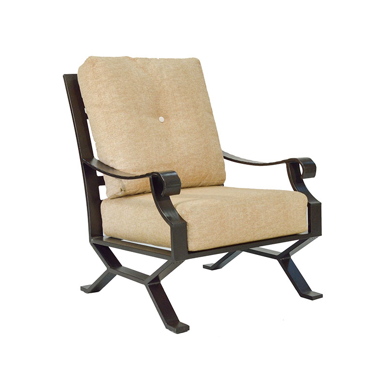 """974731 Sonoma Lounge Chair   30.3"""" x 39"""" x 40.4""""  (Image Incorrect BOX WELT - HB Crescents (row below))"""