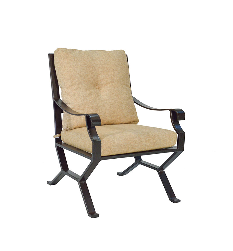 """974721P Sonoma Cushioned Dining Chair   29.8"""" x 27.1"""" x 37.3""""  (Image Incorrect BOX WELT)"""