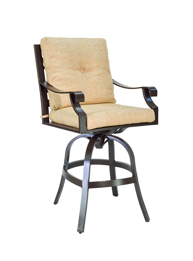 "974712P Sonoma Cushioned Bar Chair   26.6"" x 31.7"" x 37.5""  (Image Incorrect BOX WELT)"