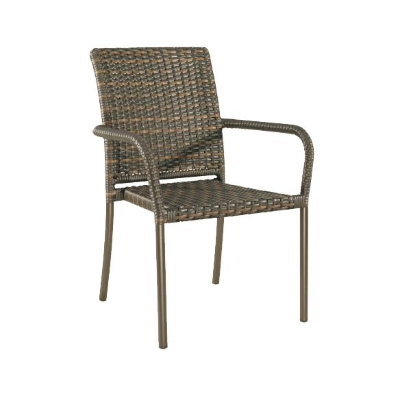 "959021S Square Back Bistro Chair   24"" x 5.5"" 35"""
