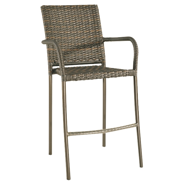 "959008S Square Back Bar Chair   24"" x 28.3"" x 45.7"""