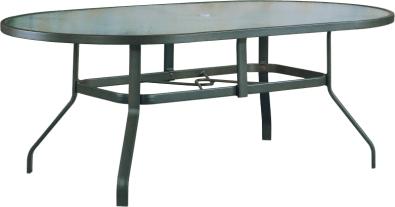 "B-76O 42"" x 76"" Oval Dining Table   40.5"" x 40.5"" x 38.9"""