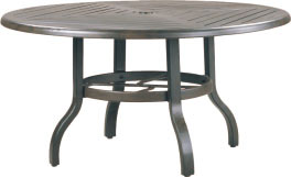 "R-42C 42"" conversation table base   Top: W-42R Farnham 42"" Round Wood Top"