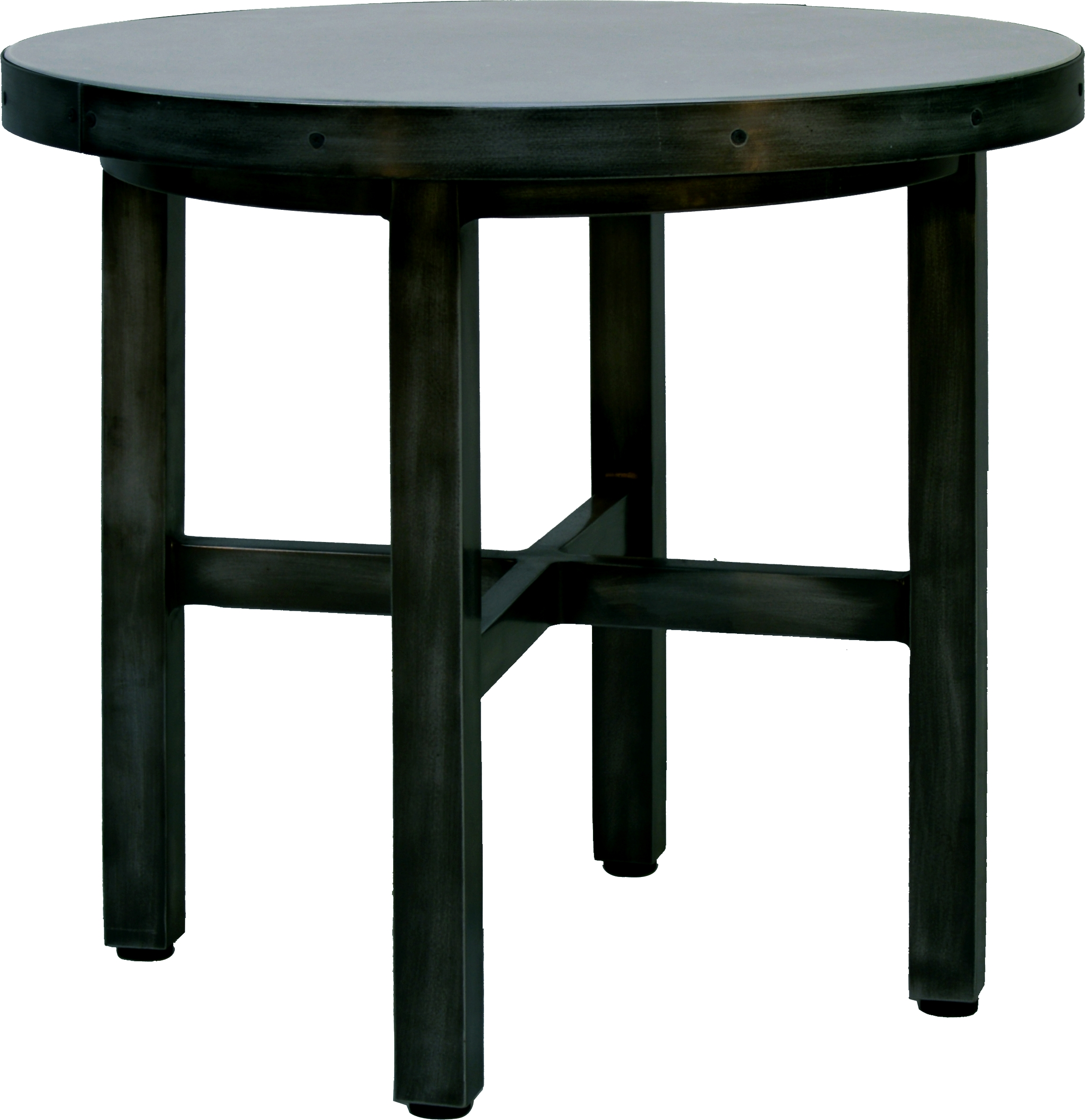 "ANB-24R 24"" Round End Table BASES   24"" x 24"" x 17"""