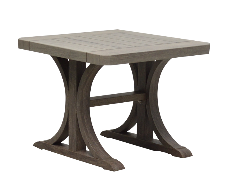 "NHPB-23S 23"" Square End table BASE         23"" x 23"" x 17"""