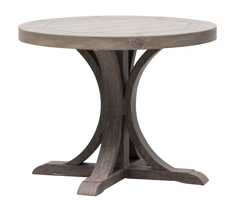 "NHPB-24R 24"" Round End Table BASE                24"" dia x 17"""