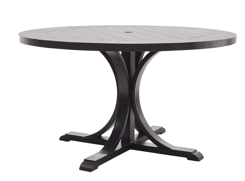 "NHPB-60R 60"" Round Dining Table BASE         60"" dia x 27"""