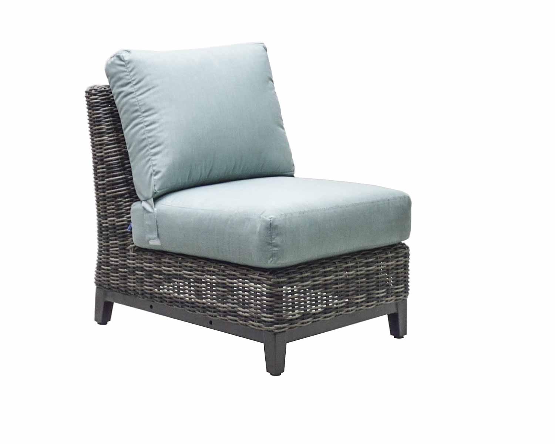 """976831A Somerset Armless Chair   24.4"""" x 34"""" x 30.9"""""""