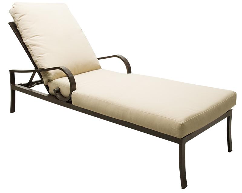 601552 Key Largo Adjustable Chaise   26 x 80 x 23.4