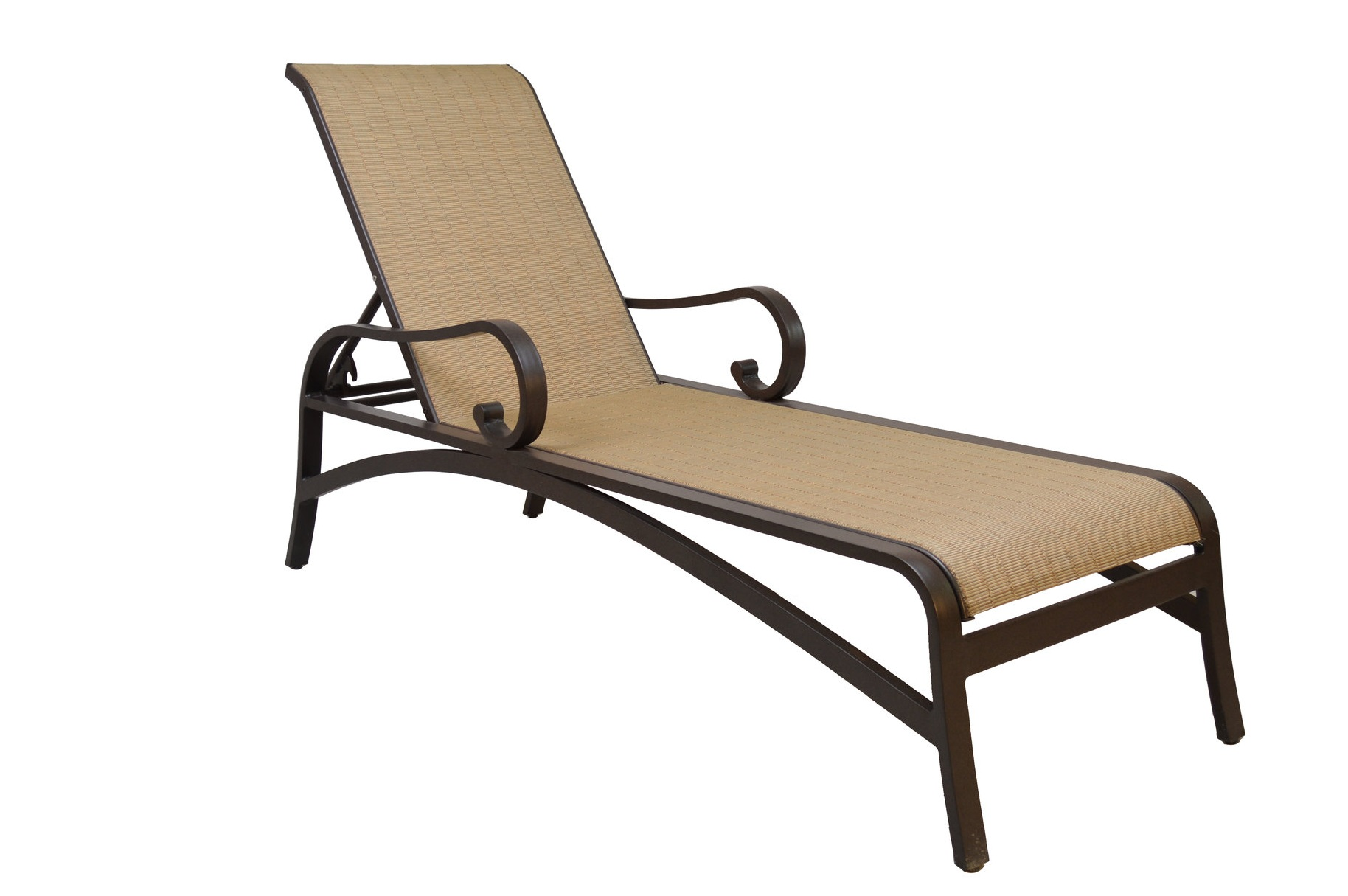 601551 Key Largo Adjustable Chaise   25 x 83.6 x 23.4