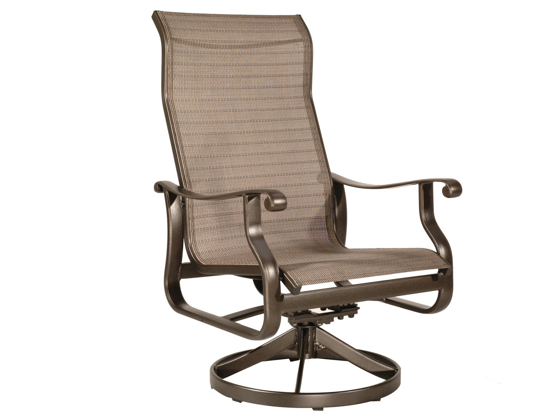 "970533 Mandalay Swivel Chat Chair   26.4"" x 30"" x 43.3"""