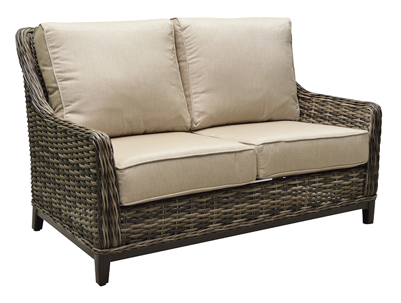 "971261H Catalina High Back Loveseat   37"" x 60"" x 37"""