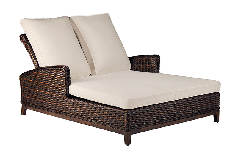 "971254 Catalina Double Adjustable Chaise   55"" x 83"" x 25"""