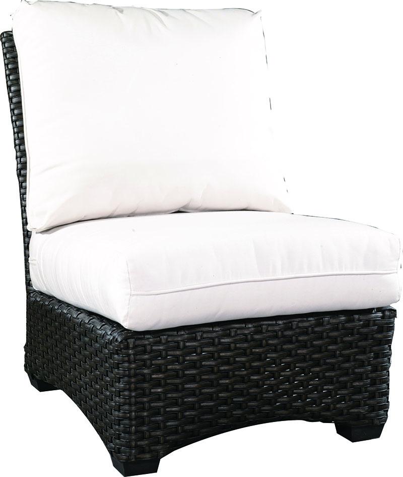 """971531A Kapaa Armless Chair   26.5"""" x 35.8"""" x 35.5"""""""
