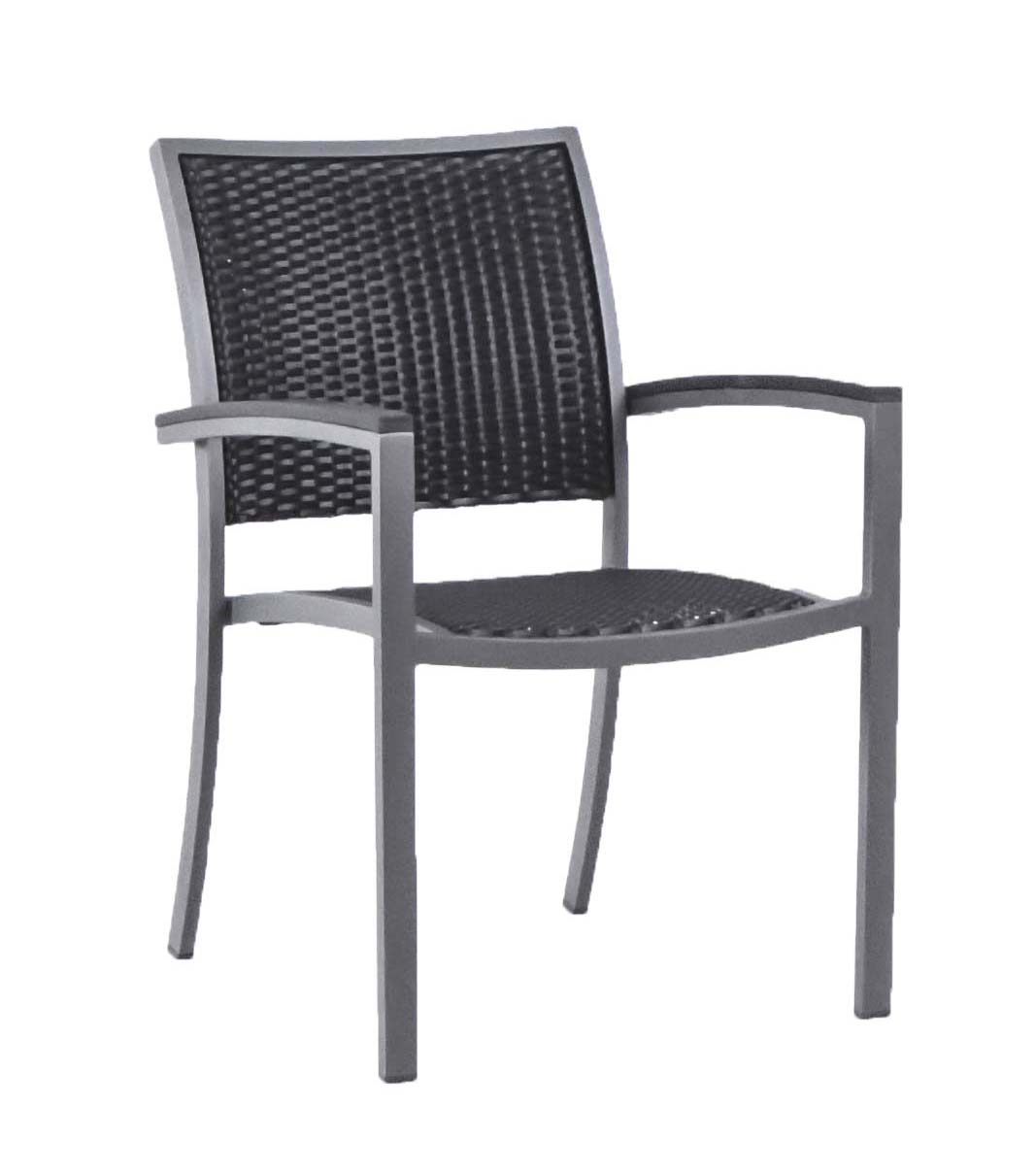 "882121 Capri Arm Chair  24.4"" x 25.2"" x 35.8"""