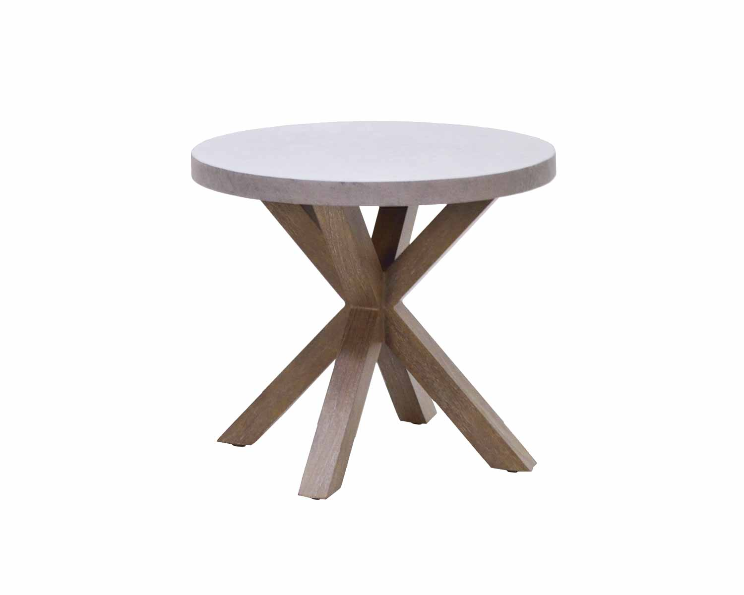 "CLR-24R 24"" Round End Table   24"" dia x 21"""